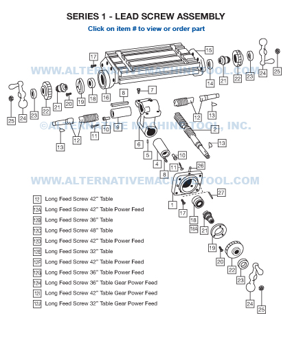 S1 Lead Screw Assembly